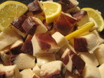 Chocolate & Fresh Lemon Fudge
