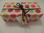 Gift Wrapped Spotty Box 500gms